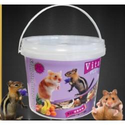 Vital Plus Hamster y Ardillas Cubo 5,5 L