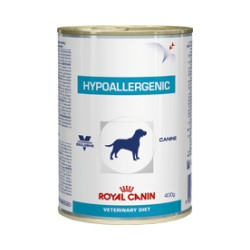 ROYAL CANIN CANINE HYPOALLERGENIC 400GR LATA