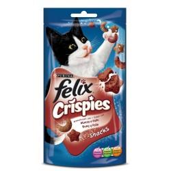 Felix Crispies con sabor Buey y Pollo
