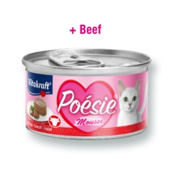 Vitakraft Poesie Mousse Ternera 85 grs