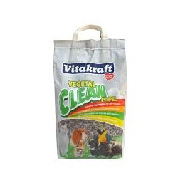 Lecho papel reciclado vegetal clean vitakraft 10 litros