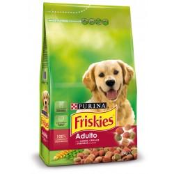 FRISKIES Adulto con Carnes, Cereales y Verduras añadidas