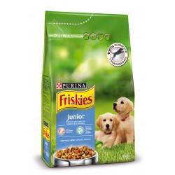 FRISKIES Junior con Pollo, Leche y Verduras añadidas