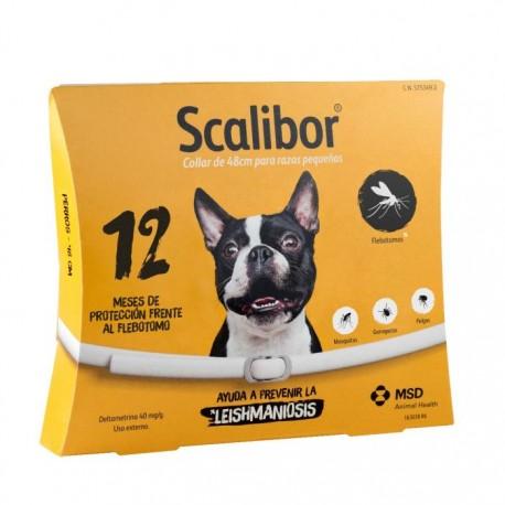 Collar antiparásitos Scalibor (Español)