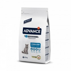 Advance Cat Adulto Esterilizado Pavo y Cebada