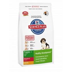 Hills SP Canine Puppy Healthy Development Razas Medianas con Pollo