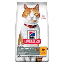 Hills SP Feline Young Adult Sterilised Cat Pollo