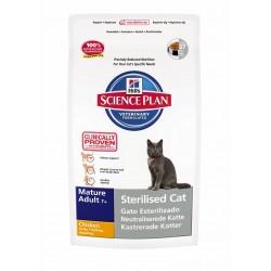 Hills SP Feline Mature Adult Sterilised Cat Pollo