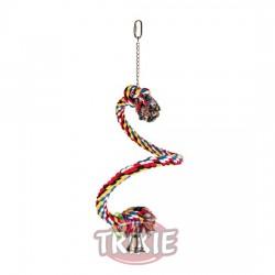 Percha Cuerda Multicolor espiral