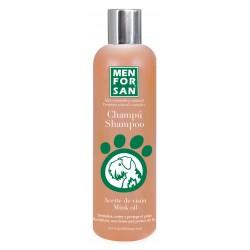 Champu con Aceite de Visón para Perros Revitaliza Nutre y Protege el pelaje