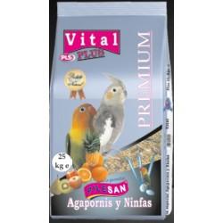 Mixtura Vital Plus Agapornis y Ninfas