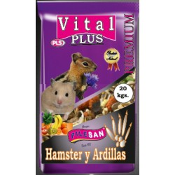 Vital Plus Premium Hamster y Ardillas