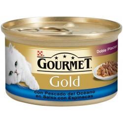 GOURMET GOLD Doble Placer con Pescado del Océano