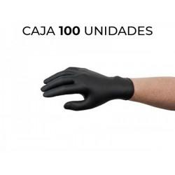 DISPONIBLE AHORA CAJA 100 GUANTES NITRILO NEGRO