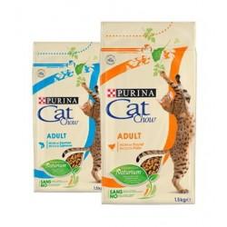 Cat Chow Adulto con Salmón y Atún