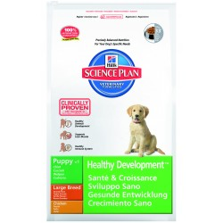 Hills SP Canine Puppy Healthy Development Razas Grandes con Pollo