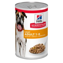 Hills SP Canine Adult Light con Pollo (lata)