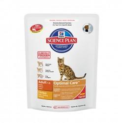 Hills SP Feline Adult Optimal Care Pollo