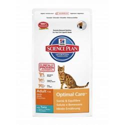 Hills SP Feline Adult Optimal Care Atún