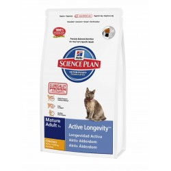 Hills SP Feline Mature Adult 7+ Active Longevity con Pollo
